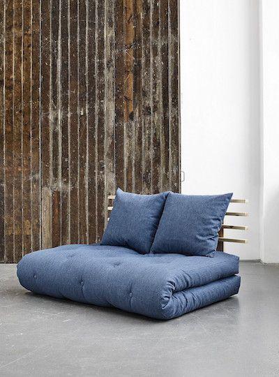 Canapeaua extensibila Shin Sano Natural II este ideala pentru serile petrecute in familie! #somproduct #inspiring #comfort #blue #indigo #couch #comfort