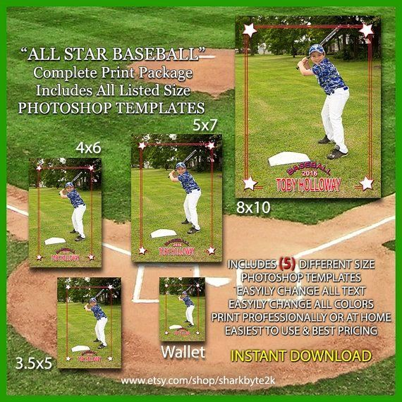 Baseball Card Template Photoshop Best Of 17 Best Images About Baseball Card Templates On Pinterest Baseball Card Template Photoshop Template Photoshop