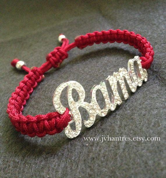 Alabama Crimson Tide Football Game Day Bracelet Qty 1 by JVHANTRES, $15.00