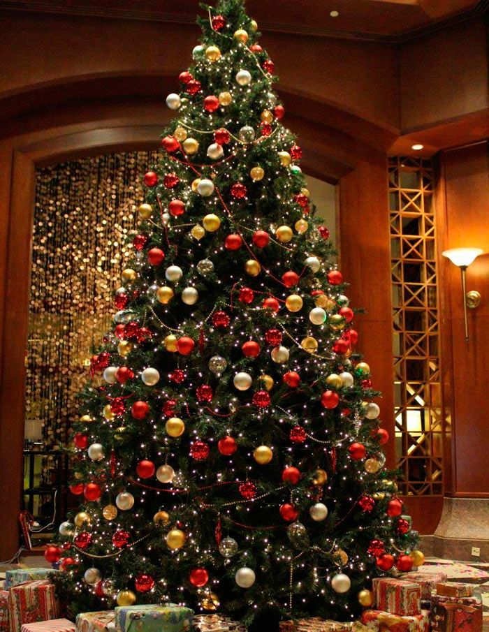 Как украсить елку на Новый год в 2017