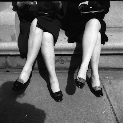 "Vivian Maier - ""Pairs"" is another theme I see in her street photographs"