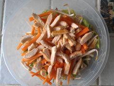 salade au poulet (façon resto chinois) - Recette de cuisine Marmiton : une recette