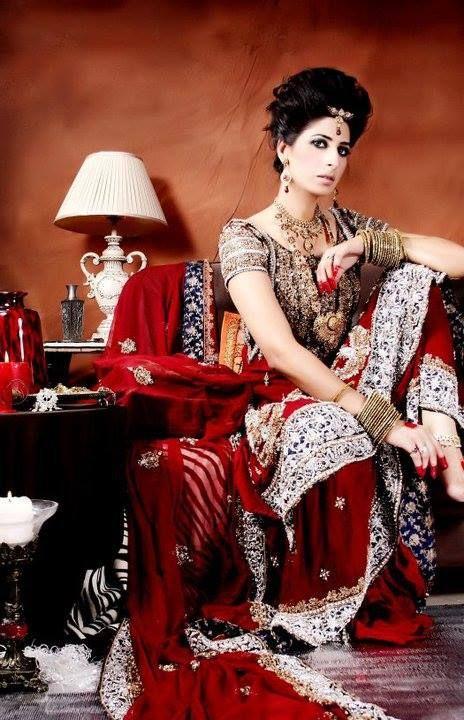Pakistani Latest Bridal Couture Wedding Dresses for Women 2014