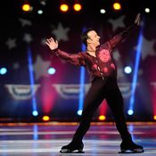 Brian Boitano skates at Izod Center on Dec. 11 in East Rutherford, N.J. Boitano will go to the Winter Olympics in Sochi, Russia, as part of ...