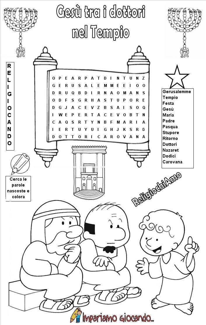 Pin di Marinella Burioli su idee catechismo | Pinterest ...