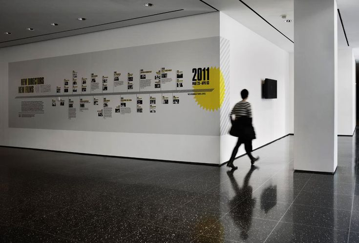 MoMA celebrated the 40th anniversary of the 'New Directors / New Film' event with a temporary exhibition. In partnership with the internal MoMA design team, we created a bold visual system using larger than life typography to make the momentous occasion truly iconic.