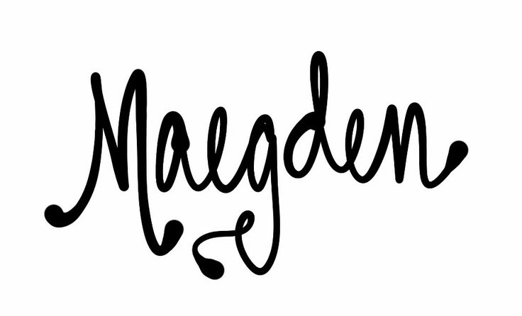 "Got a request for ""totally unique names."" Here's a repin. Maegden/ Mægden. The Old English word for 'maiden.' You all might know that my favorite names are classics; still, I'm posting this for fun/for characters (I'm a MEG coupled with a BranDEN...see it?). I love etymology, and English is a functionally Germanic language despite our penchant for borrowing. A diminutive for the German 'Magd, Mädchen,' meaning maid. Both come originally from an Indo-European root, shared by Old Irish."