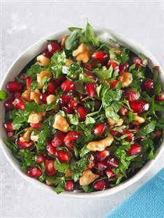 Cevizli maydanoz salatası