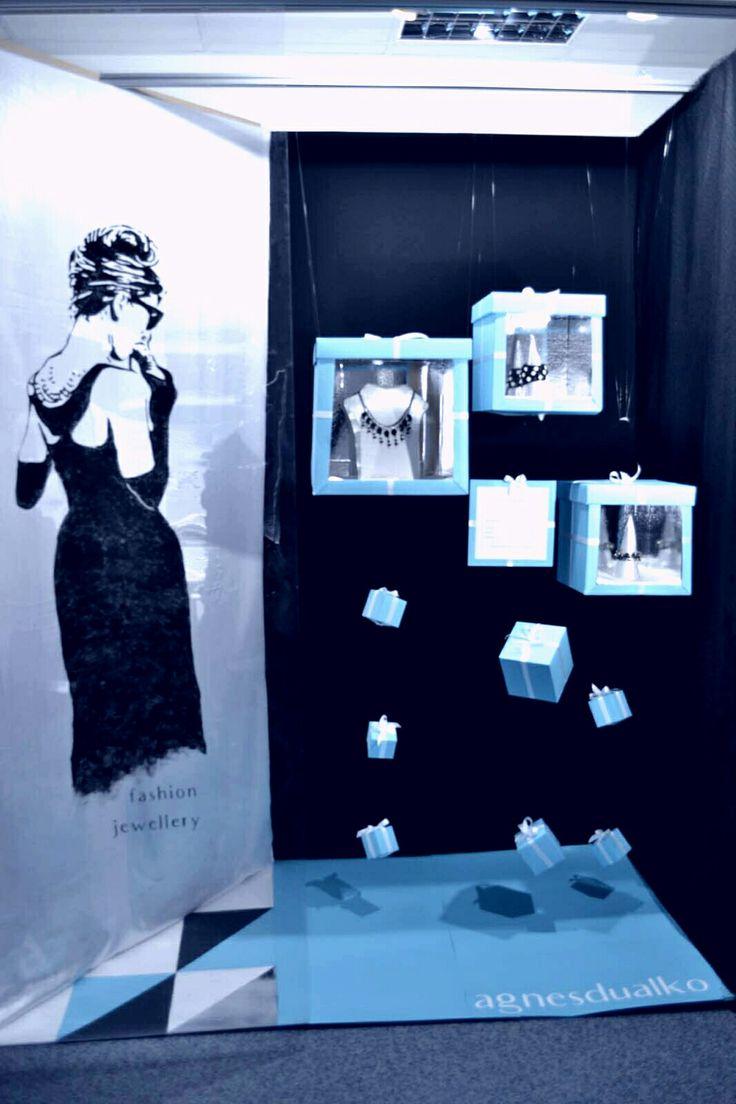 Vizsgamunka 2017 - Álom luxuskivitelben #decorateur #exam #showwindow #breakfastattiffanys #tiffany #audreyhepburn