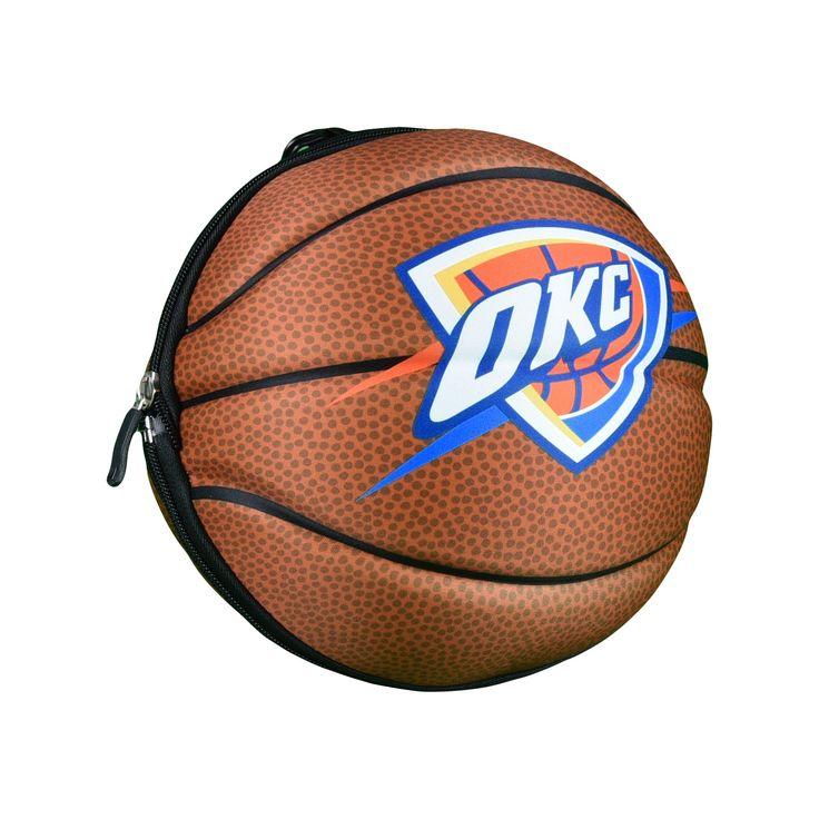 NBA Oklahoma City Thunder Collapsible Basketball Duffle Bag
