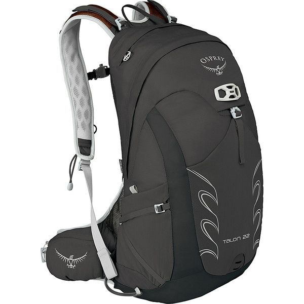 Osprey Talon 22 Hiking Pack - Black - M/L - Hiking Backpacks ($83) ❤ liked on Polyvore featuring men's fashion, men's bags, men's backpacks, black and mens one strap backpack