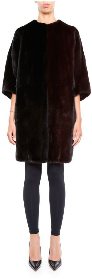 Fendi mink fur coat