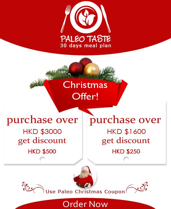 Christmas Mega Offer! Paleo Taste brings you heavy discounts for this wonderful Christmas season. Enjoy Paleo, 30 days meal plan with attractive offers. Don't miss this mega opportunity from the best gluten free meal provider. Delivery through out Hong Kong. Order Now : www.paleotaste.com.hk . #christmasoffer #diet #dieting #offer #seasonoffer #santa #megadiscount #christmasdiscount #mealoffers #hongkong #offers #discounts #fitness #organic #bestoffer #megasale #dietofers #christmas…