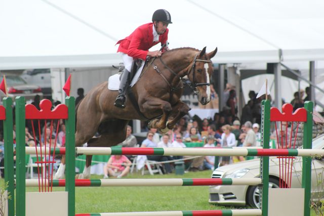 Peter Atkins & Henny  EVENTING NATION