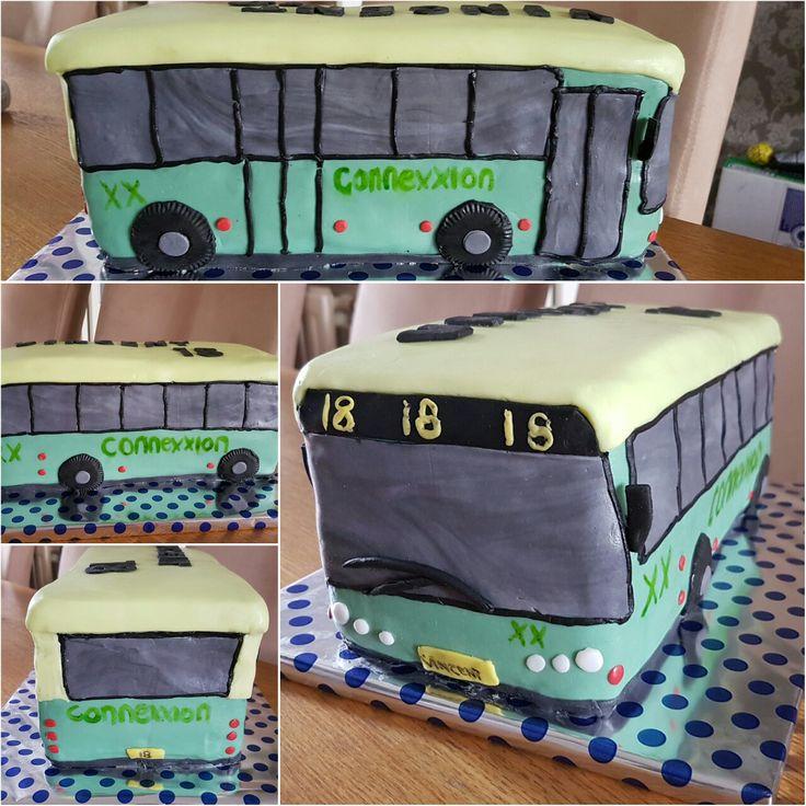 Bus taart
