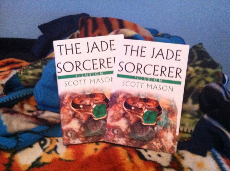 My first book.  The Jade Sorcerer - Illusion