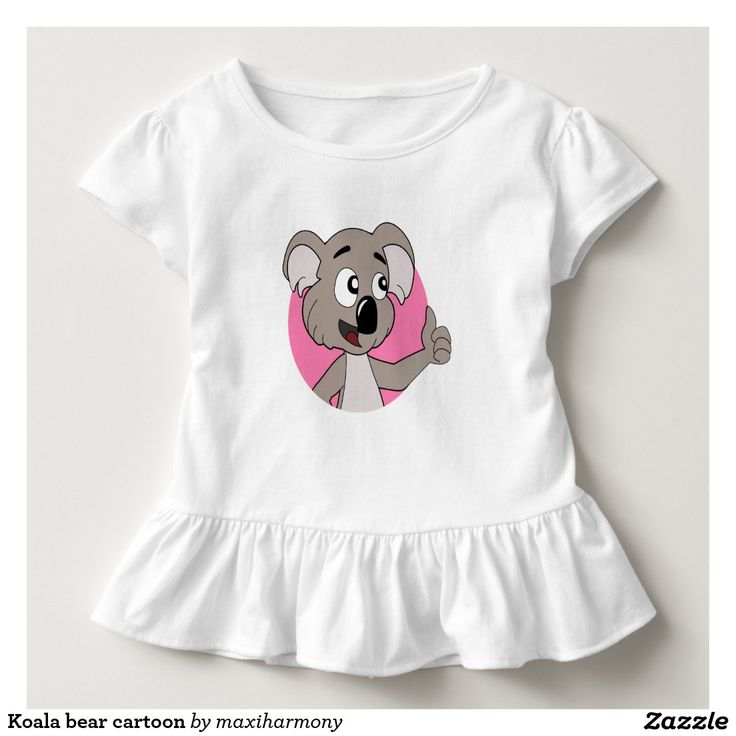 Koala bear cartoon t shirt