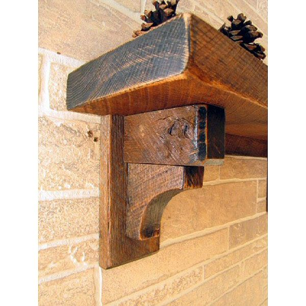 rustic wall shelves   The Timber Wall Shelf features the rustic timber design with ...