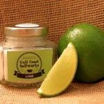 Gulf Coast Saltworks Our Sea Salt blended with tart and fresh all natural lime.  Wonderful on fish, or any seafood, and perfect for lining your Margarita glass. http://www.GulfCoastSaltworks.com/products