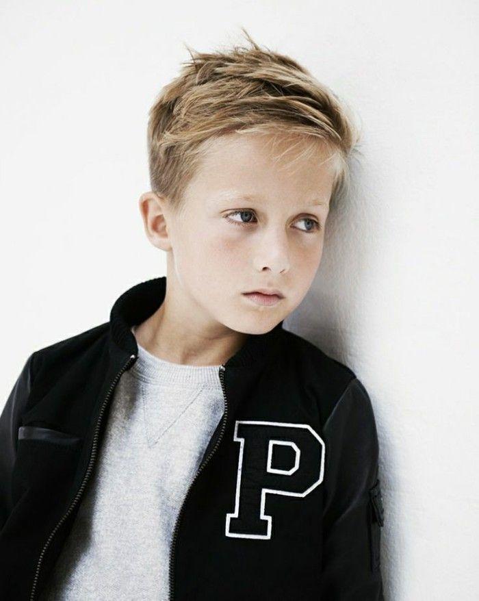 Kids hairstyles trendy blonde hair boys