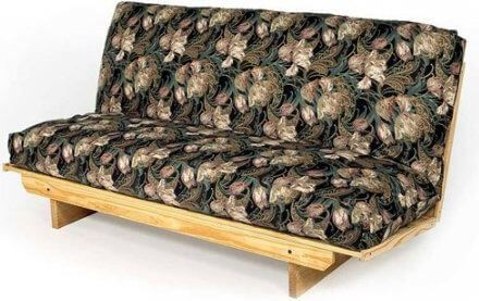 Super EZ Solid Wood Queen Futon Frame/Sofa Bed