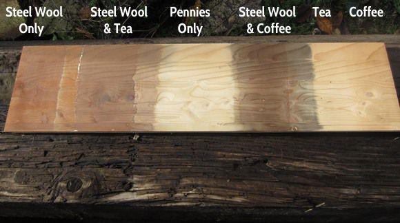 Natural wood stain methods that work!