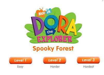Dora Spooky Forest game online