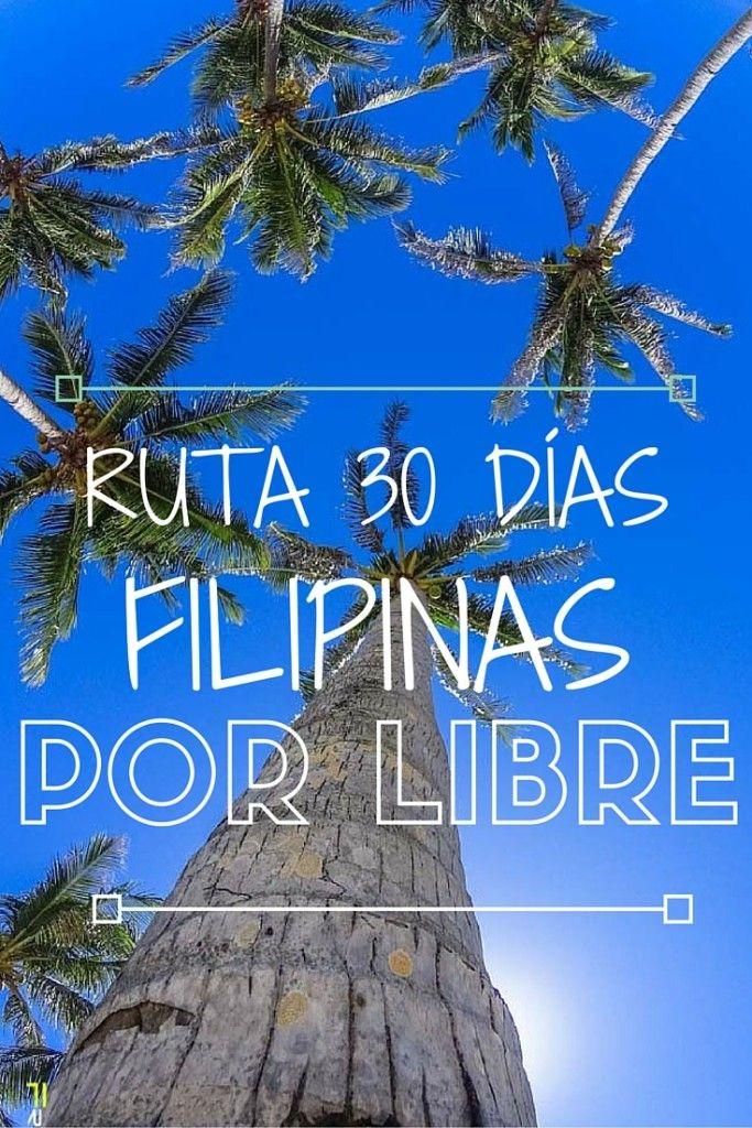 FILIPINAS POR LIBRE RUTA 30 DIAS                                                                                                                                                                                 Más