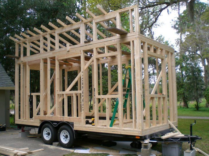 Tiny House Framing Tiny House Construction Big Lake Monticello Mn