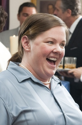 Melissa McCarthy is nominated for best supporting actress in 'Bridesmaids'. We LOVE her and that movie! #BBredcarpet