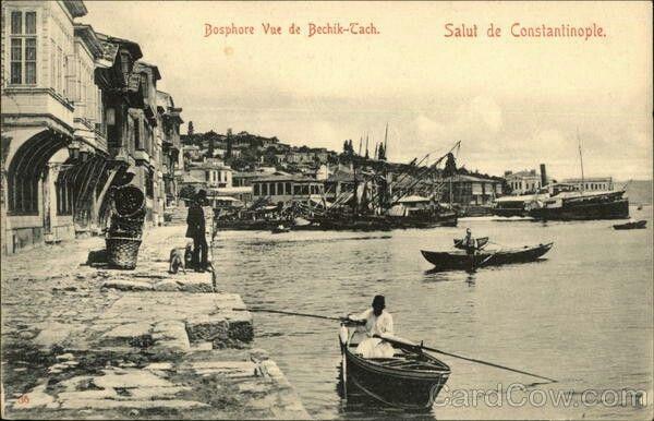 Bosphore Vue de Bechik-Tach