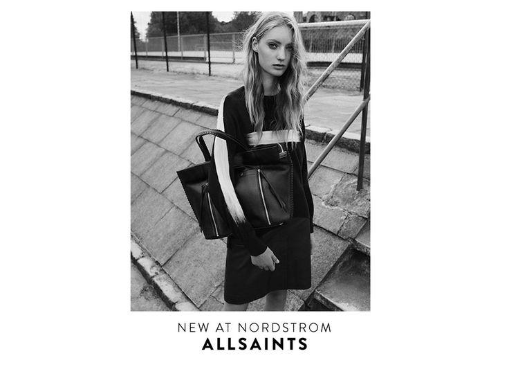New at Nordstrom: ALLSAINTS handbags.