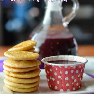 Simple Organic Blueberry Syrup Recipe