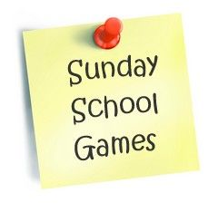 Bible game ideas perfect for Kids church, Sunday School, or home.