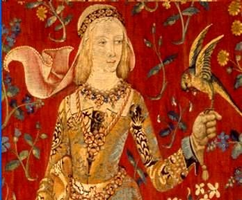 Blanche of Lancaster - Heiress to the Lancastrian estates. Loved by John of Gaunt and Chaucer who wrote about her in The Book of the Duchess - My Lady White. Died about 1368-1369.