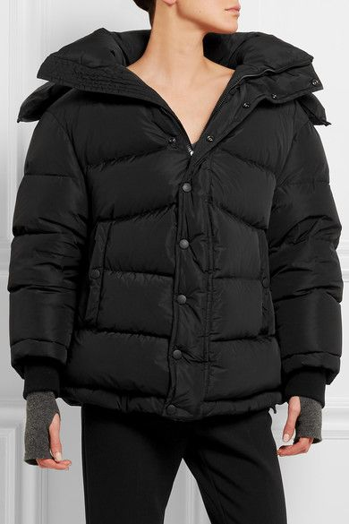 084b0c6dfa Balenciaga - Swing Doudoune Oversized Hooded Quilted Shell Down Coat - Black