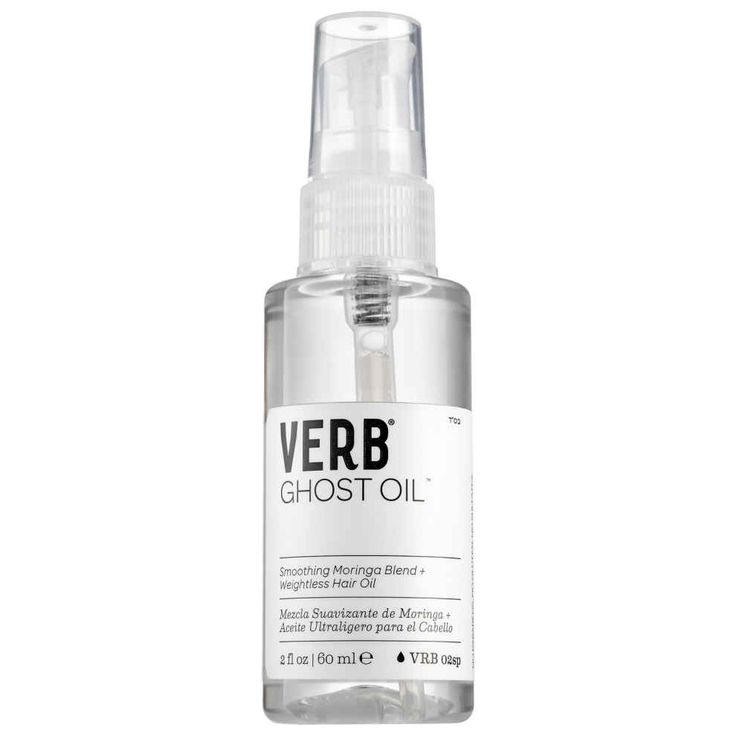 Verb Ghost Oil, which adds healthy (but not greasy) shine without weighing your locks down.