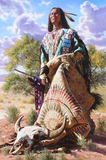 Amerindiens en peinture                                                                                                                                                                                 Plus