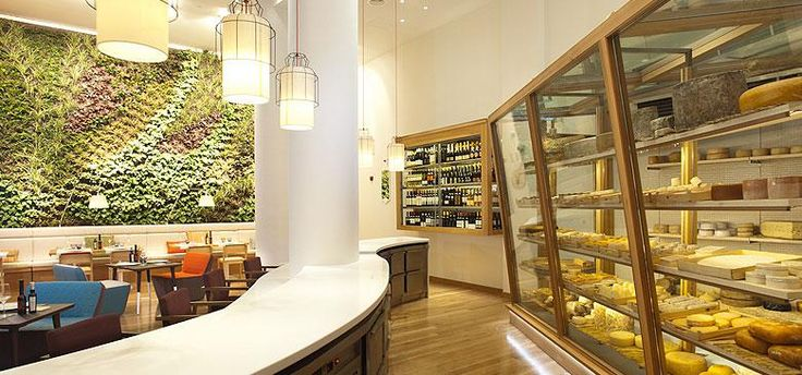 Cheese bar  in Madrid - C/Jose Abascal - must go!