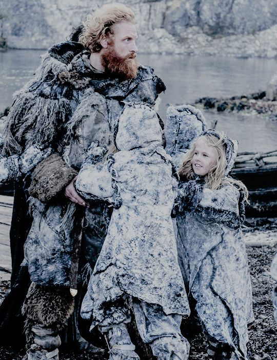 Tormund Giantsbane. I just love him, first in the books and then in the show. He has the coolest name, too.