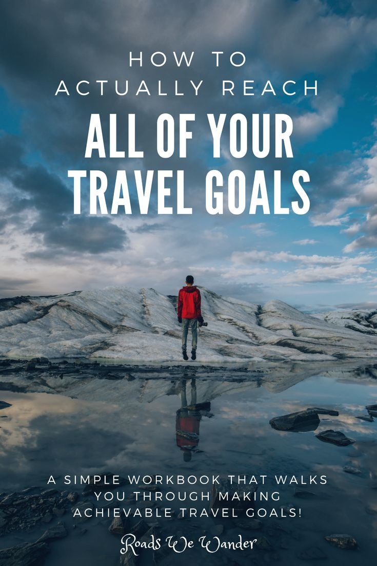 Discover simple tips to help you set and achieve your travel goals! This workbook is completely FREE. This workbook walks you through every step, so that you can have a successful and an adventure filled year!