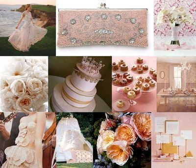 Pink, Gold, Inspiration, Board
