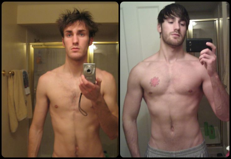 Skinny Guy Creatine Before and After - From Skinny To