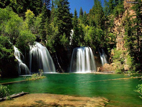 Hanging Lake Waterfall, Glenwood Canyon, Glenwood Springs Colorado