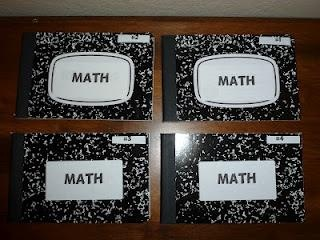 Home Depot will cut composition notebooks in half for you....great idea for vocabulary notebooks