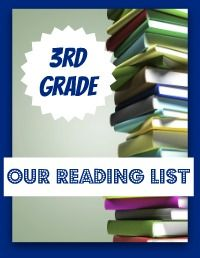 3rd grade reading list - My Joy-Filled Life