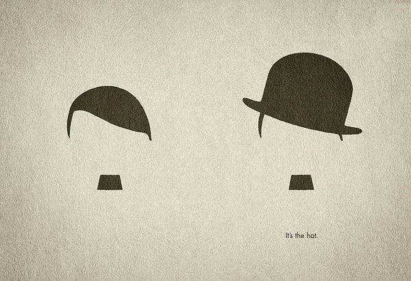 it's the hat - print advertisement