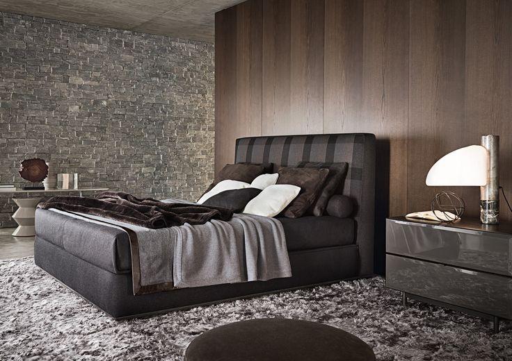 Minotti Ipad - POWELL BED | LETTI - IT