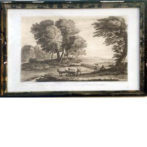 Richard Earlom (1743-1822), etsning, mezzotint ; nr 159