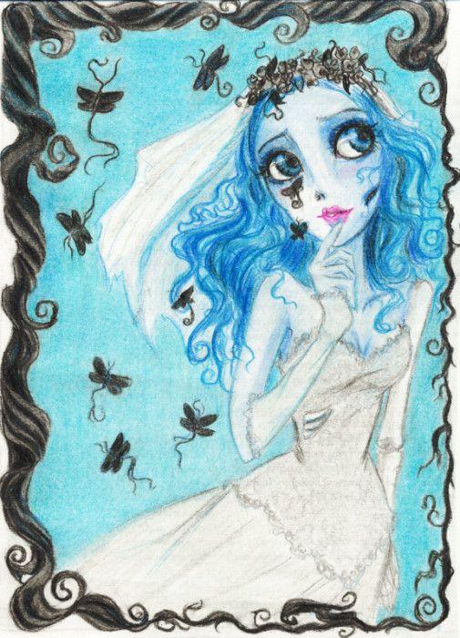 Corpse Bride by GRKaterina.deviantart.com on @DeviantArt